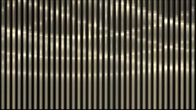 4k waving light on metal strips,stainless-steel lines rhythm,vj music backdrop. 4k waving light on metal strips,stainless-steel lines rhythm,vj music background stock video footage