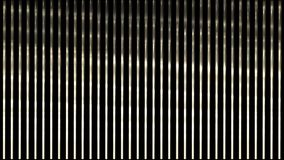4k waving light on metal strips,stainless-steel lines rhythm,vj music backdrop. 4k waving light on metal strips,stainless-steel lines rhythm,vj music background stock footage