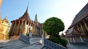 4K Weergeven van Royal Palace in Bangkok stock videobeelden