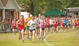 10K wegras in Forres Royalty-vrije Stock Foto's