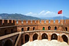 Kızıl Kule in Alanya Stock Image