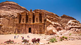 4K Zeitspanne, PETRA, Jordanien stock video footage
