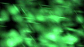 4k zielonej trawy dymu światła Abstrakcjonistyczny tło, drobnoustrój alg zarodnika bakterie royalty ilustracja