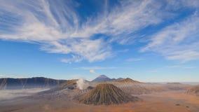 4K Zoom in timelapse Bromo volcano, East Java, Indonesia