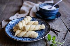 Ka'ak b'sukar - παραδοσιακά συριακά μπισκότα ζάχαρης Στοκ φωτογραφία με δικαίωμα ελεύθερης χρήσης