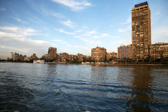 Kaïro, Historische rivier van Nijl. Royalty-vrije Stock Afbeeldingen