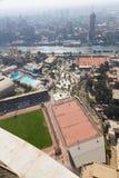 Kaïro vanaf bovenkant Stock Foto's