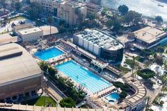 Kaïro vanaf bovenkant Royalty-vrije Stock Foto's