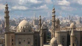kaïro Wolken Egypte stock videobeelden
