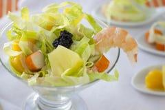kałamarnica tła koktajlu małże ośmiornice owoce morza czarnego szkła - tworzywa sztucznego art Fotografia Royalty Free