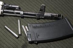 Kałasznikowu karabin szturmowy, AK-74 fotografia stock
