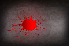 Kałuża krew fotografia stock