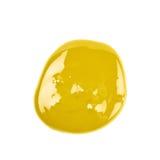 Kałuża odizolowywająca farba zdjęcie stock