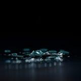 Kałuża woda zdjęcie royalty free