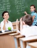Każdy uczeń chcieć target677_0_ Zdjęcie Stock
