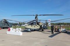 Ka-52 Immagini Stock