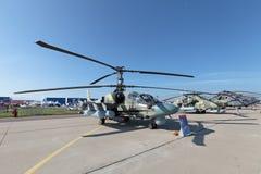 Ka-52 Immagini Stock Libere da Diritti