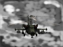 KA-50 Helicopter Stock Photo