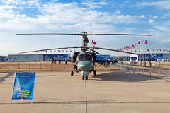 Ka-52 (nom d'enregistrement de l'OTAN : Hokum B) Photo libre de droits