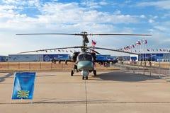 Ka-52 (nombre de la información de la OTAN: Hokum B) Foto de archivo libre de regalías