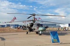 Ka-52 (nome di segnalazione di NATO: Hokum B) Immagini Stock