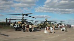 The Ka-52 Alligator stock video footage