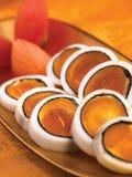 kałamarnicy jajeczny yolk Obrazy Royalty Free