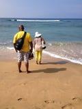 KA'ANAPALI BEACH Stock Images