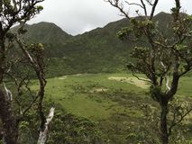 Ka'au-Krater-Wanderung lizenzfreies stockbild