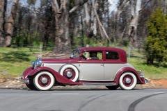 KA 1933 de Lincoln Victoria Coupe foto de stock royalty free