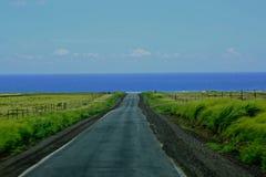 Ka del sud Lae Hawai del punto della strada immagini stock