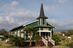 Ka Hale Laa O Ierusalema Hou. Church - The Sacred House of New Jerusalem - in Kaunakakai, Molokai Island, Hawaii Royalty Free Stock Photography