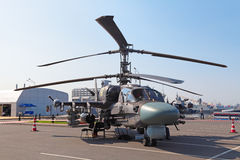 Ka-52 helikopter Zdjęcie Stock