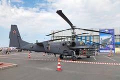 Ka-52 helikopter Obrazy Stock