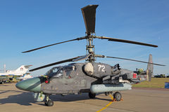 Ka-52 helikopter Fotografia Royalty Free