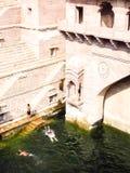 Ka Jhalra Toorji или шаг Toorji хорошо в Джодхпур стоковое изображение