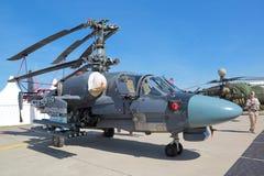 Ka-52K Katran helikopter Fotografia Royalty Free