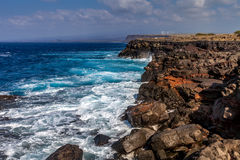 Ka Lae Southernmostpoint in the USA stock photos