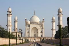 Ka Maqbara de Bibi situado en Aurangabad, la India Foto de archivo