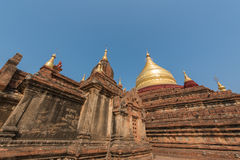 Ka-Pagode Dhamma Ya Zi in Bagan, Myanmar Lizenzfreie Stockbilder