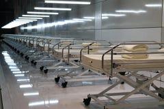 łóżka szpitalne Obraz Stock