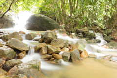 Ka Ting waterfall in Thailand Royalty Free Stock Photos