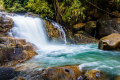 Ka Ting waterfall in Thailand Stock Photography