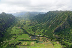 Kaaawa dolina Zdjęcie Stock