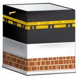 Kaaba в мекке изолированной на белизне Стоковое Изображение RF