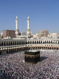 Kaaba. Holly Kaaba in Mecca, Saudi Arabia royalty free stock photography