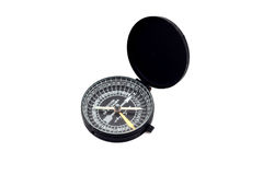 Kaaba Compass. Isolated on white background Stock Photos
