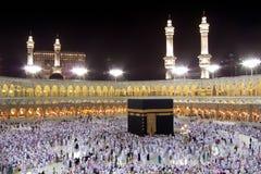 Kaaba dans Mecque Photos libres de droits