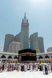 Kaaba i Mecka i den Saudiarabien ledaren Royaltyfri Fotografi