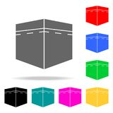 Kaaba icon. Elements of religion multi colored icons. Premium quality graphic design icon. Simple icon for websites, web design, m. Obile app, info graphics on stock illustration